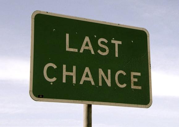 Last Chance sign edited